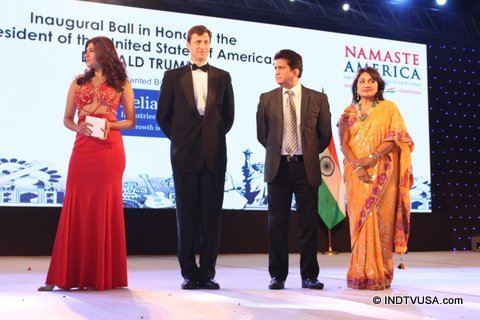 Namaste america and america consulate host a party in the honor of