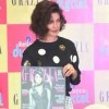 Bollywood actress Priyanka Chopra unveils December issue of fashion magazine