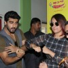 Arjun and Sonakshi promote Tevar at a Radio Station
