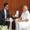 James Murdoch meets Indian PM Modi