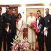 Team of First All India Services Expedition meets PM Modi