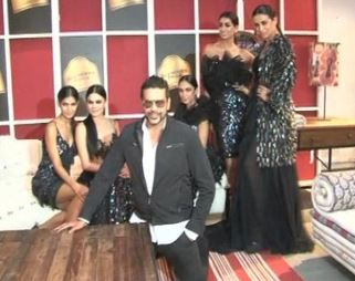 Glitterati Of Bollywood Pose With Ace Designers In Mumbai For Upcoming Fashion Tour Indtvusa