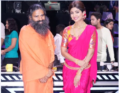 Yog Guru Baba Ramdev Spotted At The Episode Shoot Of Super
