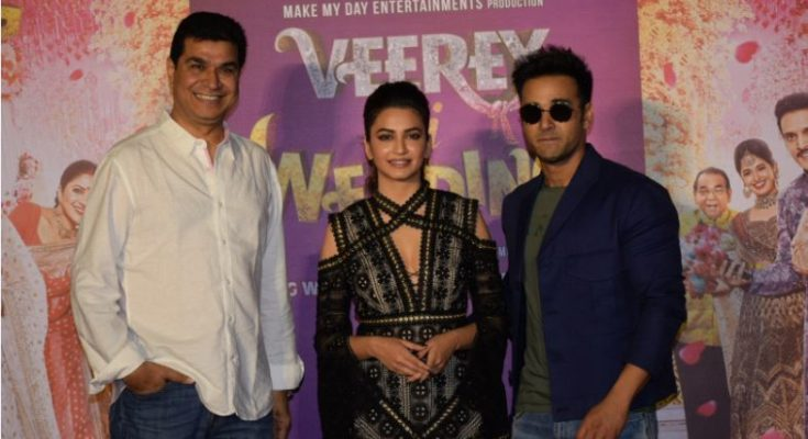 Veerey Ki Wedding.Trailer Launch Of Hindi Film Veerey Ki Wedding Indtvusa